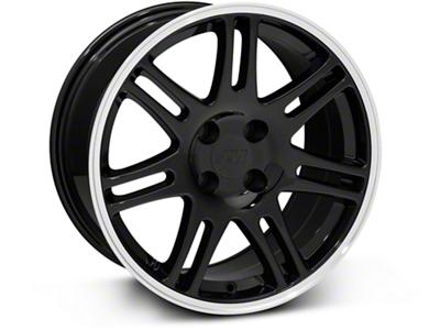 10th Anniversary Cobra Style Black Wheel - 17x9 (87-93; Excludes 93 Cobra)