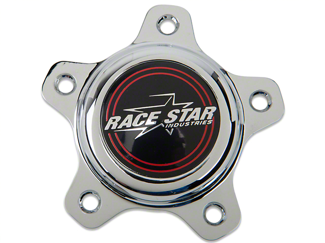 Race Star Chrome Center Cap - Short