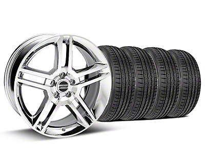 Chrome GT500 Wheel & Sumitomo Tire Kit - 19x8.5 (05-14)