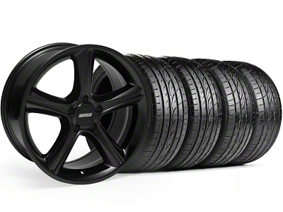 GT Premium Style Black Wheel & Sumitomo Tire Kit - 19x8.5 (05-14)