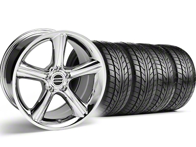 2010 GT Premium Style Chrome Wheel & NITTO Tire Kit - 18x9 (05-14)