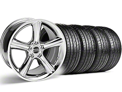 GT Premium Chrome Wheel & Sumitomo Tire Kit - 19x8.5 (05-14)