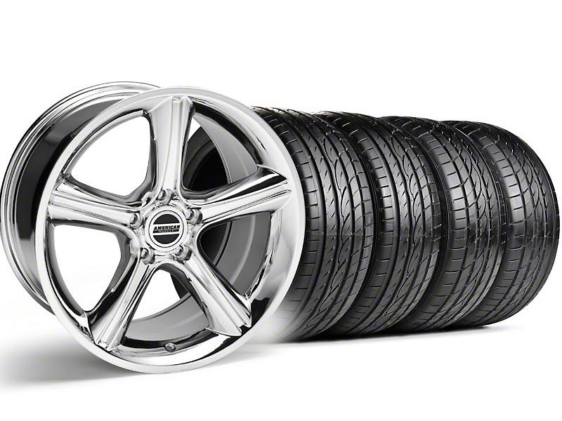GT Premium Chrome Wheel & Sumitomo Tire Kit - 19x8.5 (05-14)