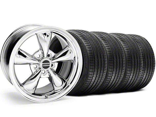 Bullitt Chrome Wheel & Sumitomo Tire Kit - 17x8 (94-04)