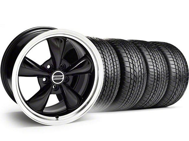Bullitt Black Wheel & Sumitomo Tire Kit - 17x8 (94-04)