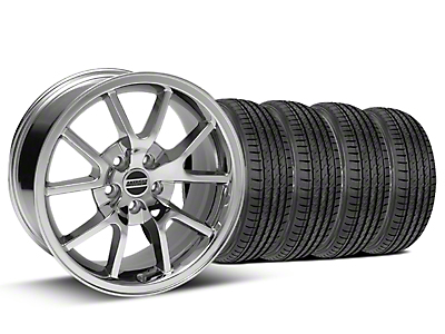 FR500 Chrome Wheel & Sumitomo Tire Kit - 17x9 (99-04)