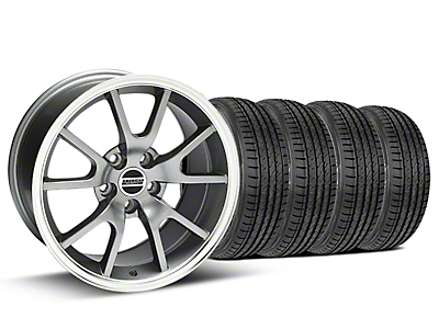 FR500 Anthracite Wheel & Sumitomo Tire Kit - 17x9 (99-04)