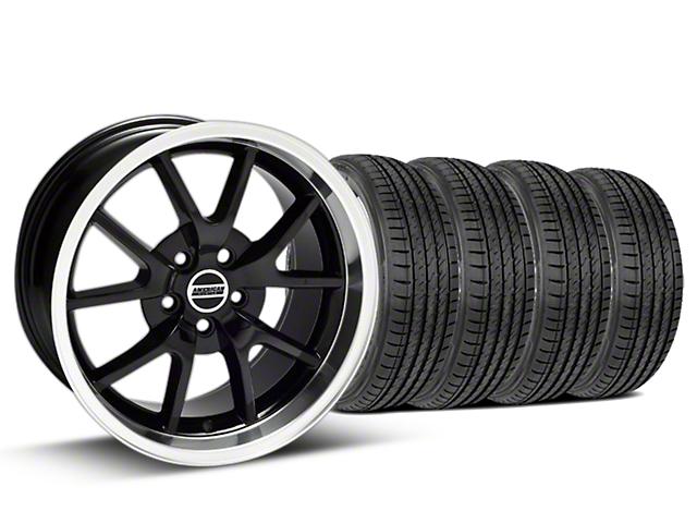 FR500 Style Black Wheel & Sumitomo Tire Kit - 17x9 (99-04)