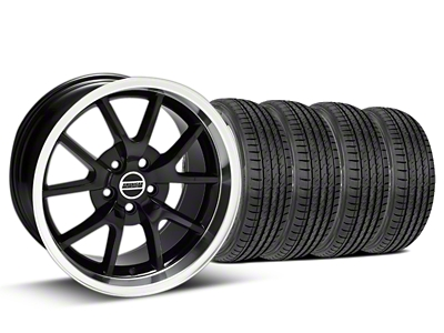 FR500 Style Black Wheel & Sumitomo Tire Kit - 17x9 (99-04)