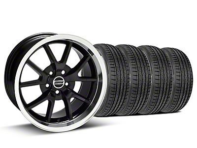 Black FR500 Wheel & Sumitomo Tire Kit - 17x9 (99-04)