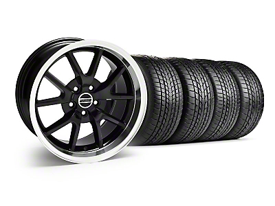 Staggered FR500 Black Wheel & Sumitomo Tire Kit - 17x9/10.5 (99-04)