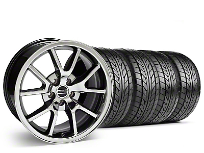 Staggered FR500 Black Chrome Wheel & NITTO Tire Kit - 18x9/10 (99-04)