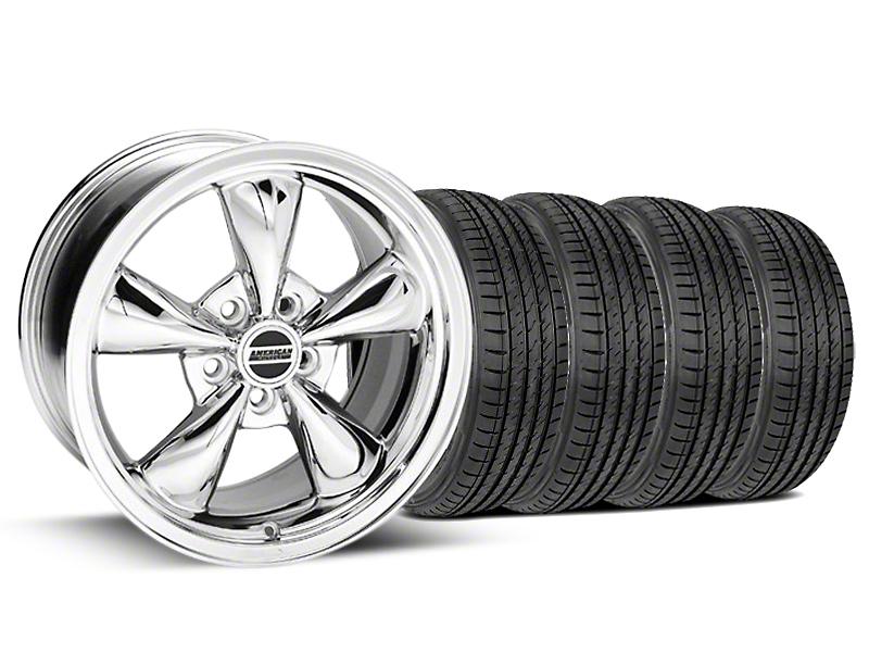 Bullitt Chrome Wheel & Sumitomo Tire Kit - 17x9 (99-04)
