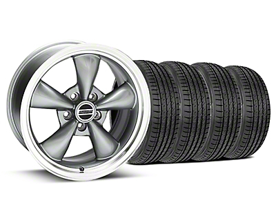 Anthracite Bullitt Wheel & Sumitomo Tire Kit - 17x9 (99-04)