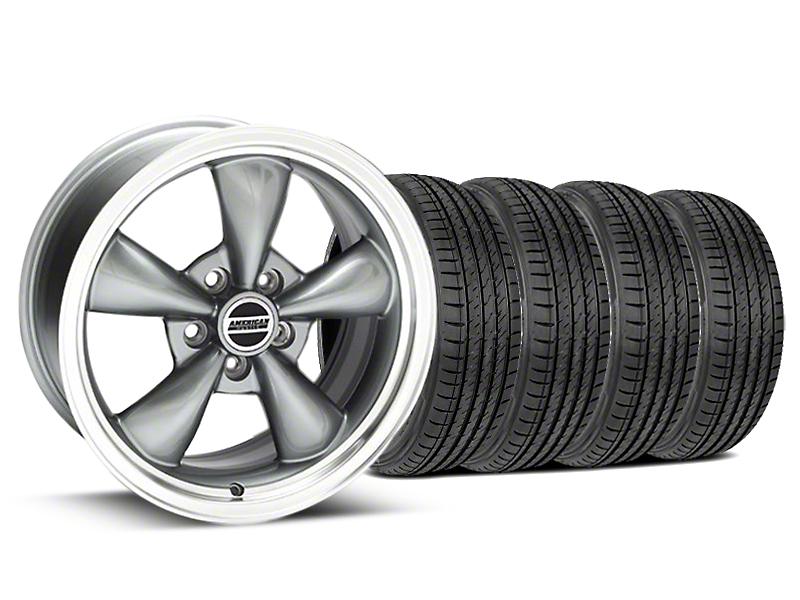 Bullitt Anthracite Wheel & Sumitomo Tire Kit - 17x9 (99-04)