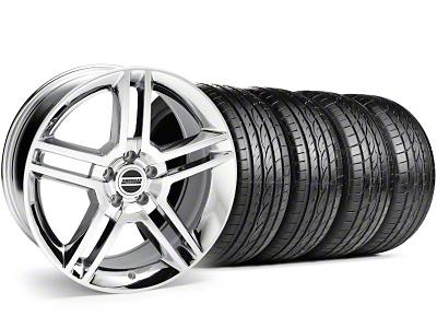 2010 GT500 Style Chrome Wheel & Sumitomo Tire Kit - 19x8.5 (99-04)