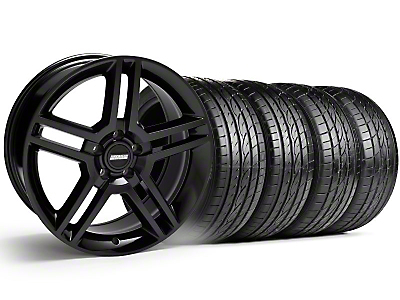 2010 GT500 Black Wheel & Sumitomo Tire Kit - 19x8.5 (99-04)
