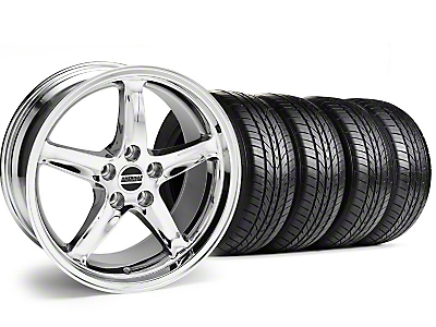 Chrome 1995 Style Cobra R Wheel & Sumitomo Tire Kit - 16x8 (99-04)
