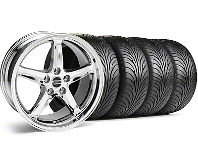 Chrome 1995 Style Cobra R Wheel & Sumitomo Tire Kit - 17x9 (99-04)