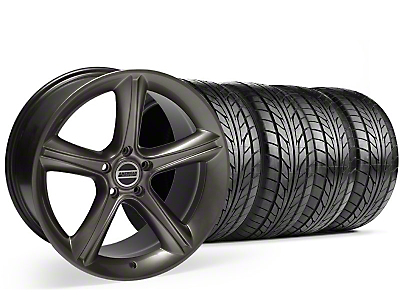 Staggered Hypercoated 2010 Style GT Premium Wheel & NITTO Tire Kit - 18x9/10 (99-04)