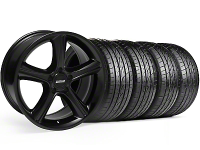 Black 2010 Style GT Premium Wheel & Sumitomo Tire Kit - 19x8.5 (99-04)