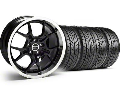 GT4 Black Wheel & NITTO Tire Kit - 18x9 (99-04)