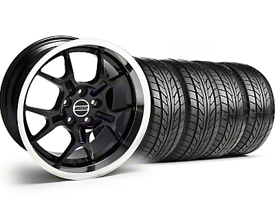 GT4 Black Wheel & NITTO Tire Kit - 18x9 (99-04)