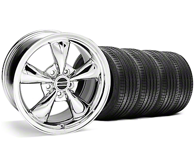 Bullitt Chrome Wheel & Sumitomo Tire Kit - 20x8.5 (05-10 GT, V6)