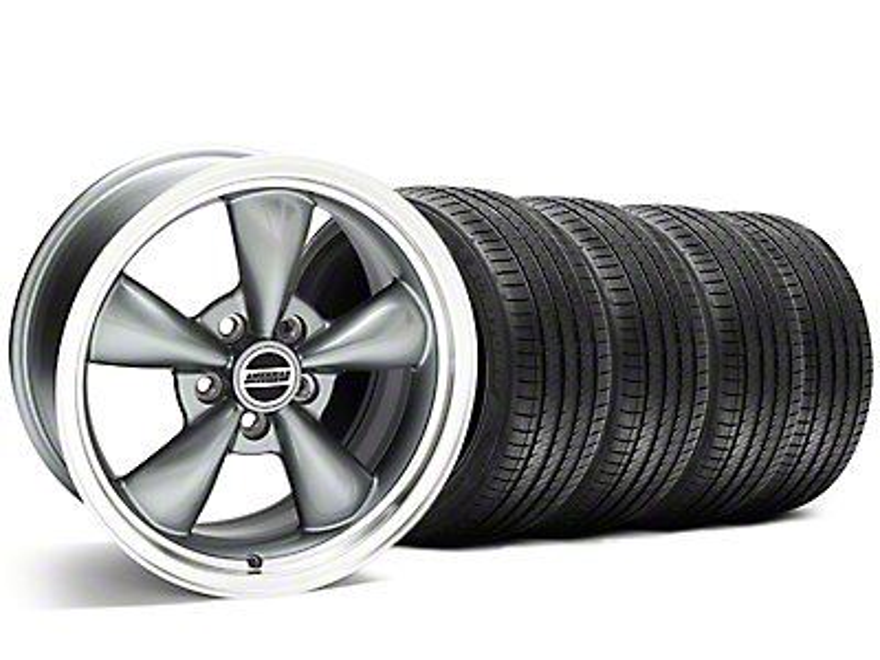 Bullitt Anthracite Wheel & Sumitomo Tire Kit - 20x8.5 (05-14 V6; 05-10 GT)
