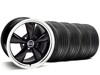 Bullitt Black Wheel & Sumitomo Tire Kit - 20x8.5 (05-14 V6; 05-10 GT)