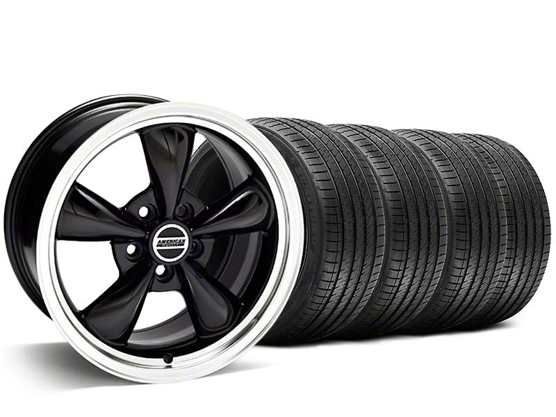 Bullitt Black Wheel & Sumitomo Tire Kit - 20x8.5 (05-14 V6; 05-10 GT)