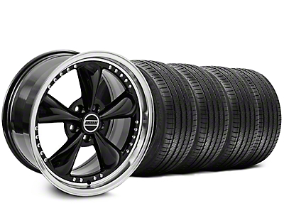 Black Bullitt Motorsport Wheel & Sumitomo Tire Kit - 20x8.5 (05-14)
