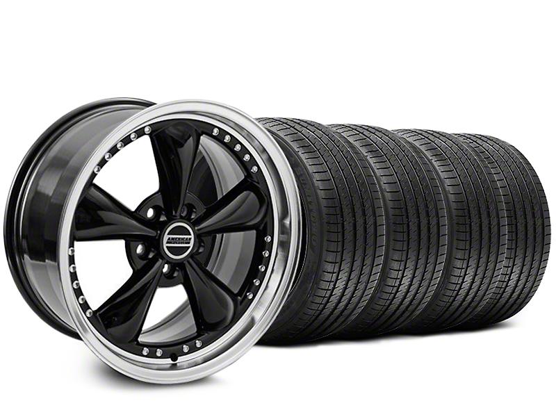 Bullitt Motorsport Black Wheel & Sumitomo Tire Kit - 20x8.5 (05-14 V6; 05-10 GT)