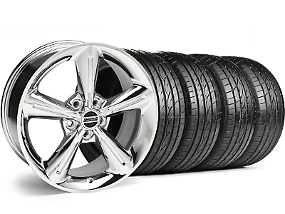 Chrome 2010 OE Style Wheel & Sumitomo Tire Kit - 18x8 (05-14)