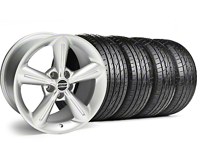 2010 OE Style Silver Wheel & Sumitomo Tire Kit - 18x8 (05-14)
