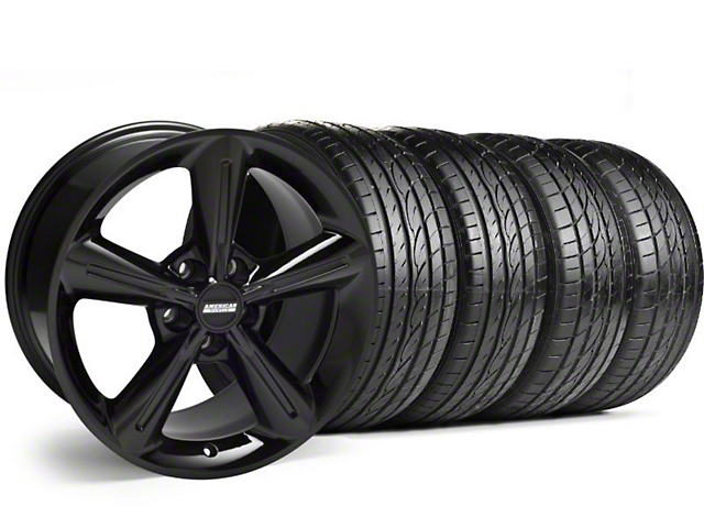 2010 OE Style Black Wheel & Sumitomo Tire Kit - 18x8 (05-14)
