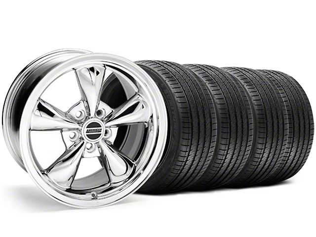 Bullitt Chrome Wheel & Sumitomo Tire Kit - 18x9 (05-14 GT, V6)