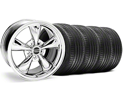 Chrome Bullitt Wheel & Sumitomo Tire Kit - 18x9 (05-14)