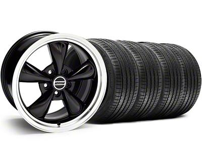 Bullitt Black Wheel & Sumitomo Tire Kit - 18x9 (05-14 GT, V6)
