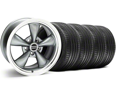 Bullitt Anthracite Wheel & Sumitomo Tire Kit - 18x9 (05-14 GT, V6)