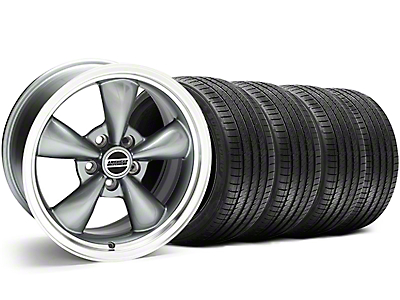 Anthracite Bullitt Wheel & Sumitomo Tire Kit - 18x9 (05-14)
