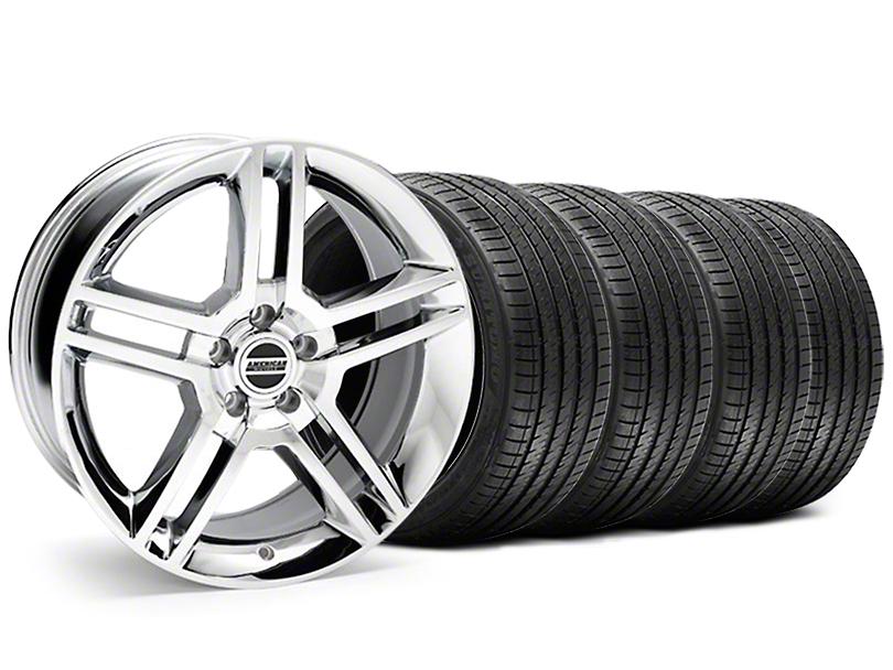2010 GT500 Style Chrome Wheel & Sumitomo Tire Kit - 18x9 (05-14)