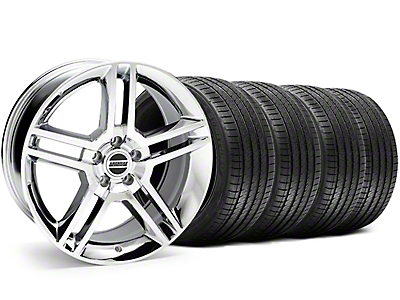Chrome GT500 Wheel & Sumitomo Tire Kit - 18x9 (05-14)