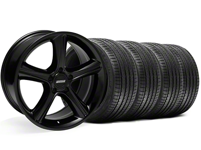 2010 GT Premium Style Black Wheel & Sumitomo Tire Kit - 18x9 (05-14)