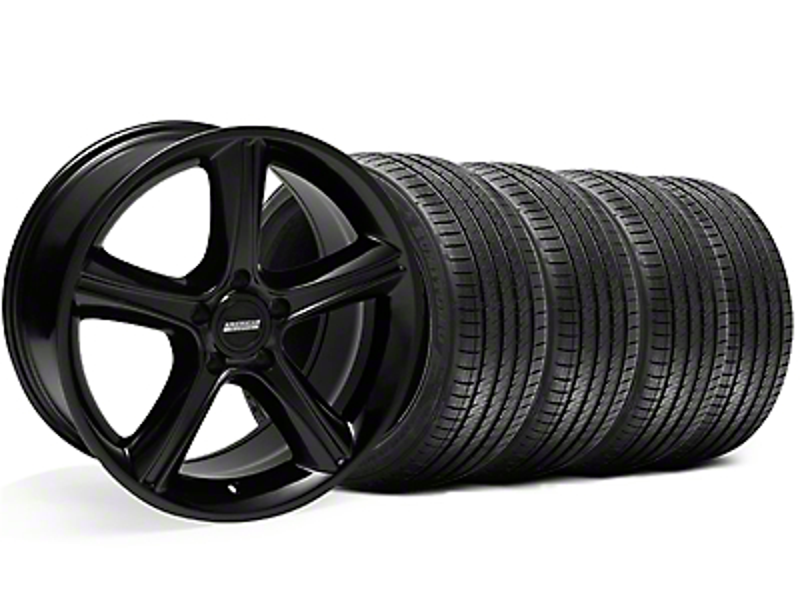 2010 GT Premium Style Black Wheel & Sumitomo Tire Kit - 18x9 (05-14 GT, V6)