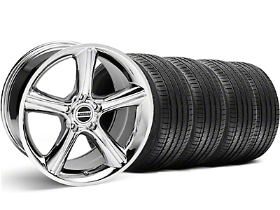 GT Premium Chrome Wheel & Sumitomo Tire Kit - 18x9 (05-14)