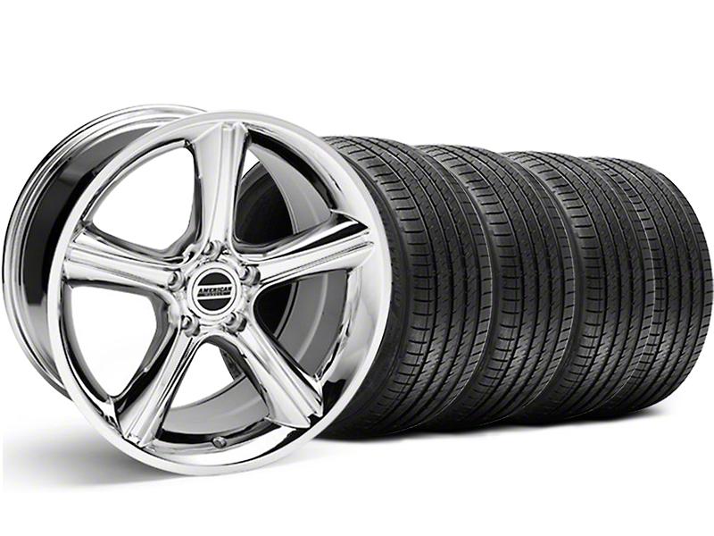 GT Premium Style Chrome Wheel & Sumitomo Tire Kit - 18x9 (05-14)