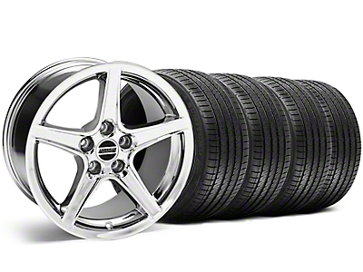 Bullitt Black Wheel & Sumitomo Tire Kit - 18x9 (99-04)