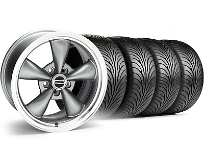 Bullitt Anthracite Wheel & Sumitomo Tire Kit - 18x9 (99-04)