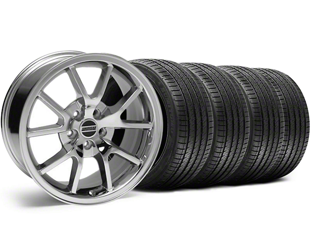 FR500 Style Chrome Wheel & Sumitomo Tire Kit - 18x9 (99-04)